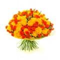 101 роза Оранж