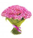 Букет из 101 розы Аква
