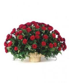 """Корзина """"101 роза"""""""