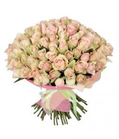 """Букет из 101 розы """"Белла-Росе"""""""