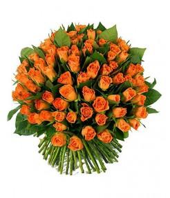 201 оранжевая роза
