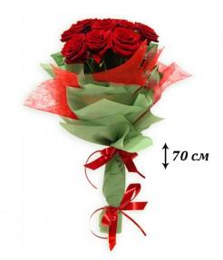 Высокие розы 70 см