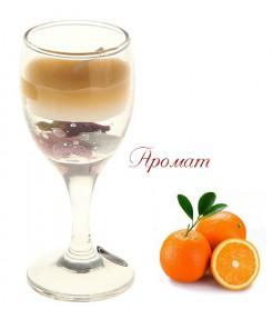 Ароматическая свеча Апельсин