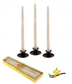 Набор свечей 3 шт Ваниль