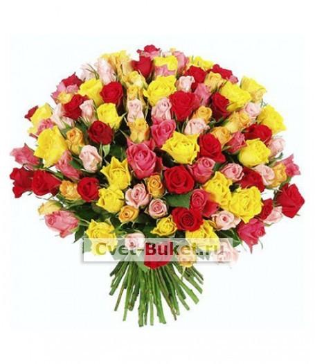 Букет - 101 роза Кения