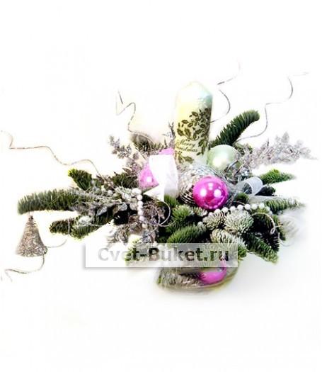 Новогодние композиции - Белая зима