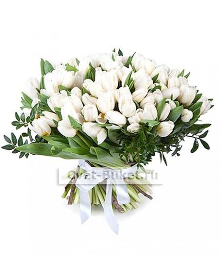Букет тюльпанов 10
