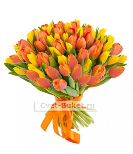 Букет тюльпанов 21
