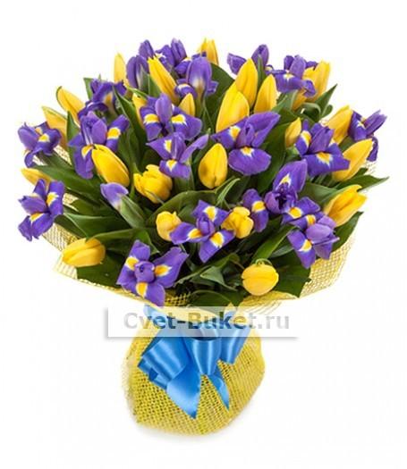 Букет тюльпанов 22