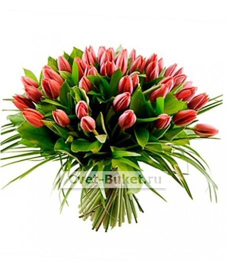 Букет тюльпанов 23