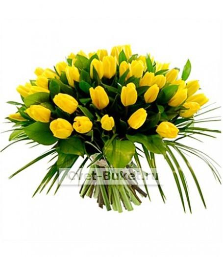 Букет тюльпанов 24